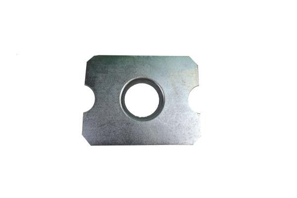 Reinforcement plate for lifting platform support (for Mercedes W124 / W210 E-Class)