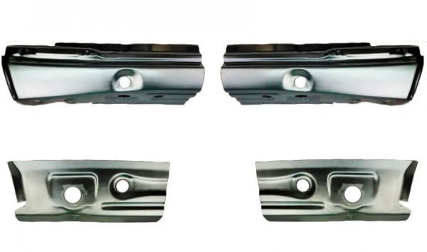 W124 Schweller/Wagenheberaufnahme Reparaturblech/Einschweißblech Set